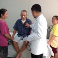 การให้บริการตรวจสุขภาพแก่แรงงานไทยในบรูไน ตามโครงการพัฒนาคุณภาพชีวิตฯ