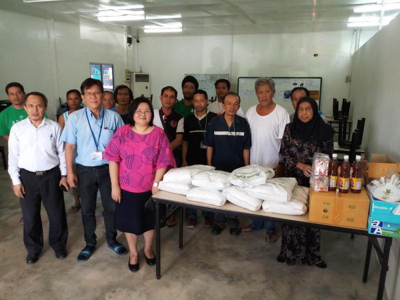 สนร.บรูไน ให้ความช่วยเหลือแก่แรงงานไทยที่ประสบเหตุเพลิงไหม้ที่พัก